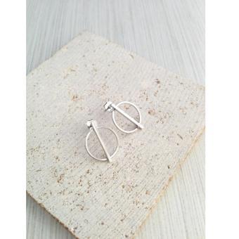 Bông tai Mini Jewelry LDE0150 _ Bộ sưu tập phong cách châu Âu bạc S925 Italia