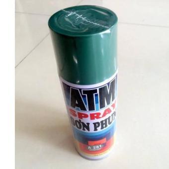 Sơn Xịt ATM Spray A281 400ml (xanh lục)