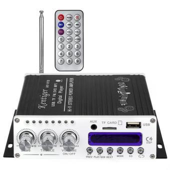 Kentiger V10 Bluetooth Hi-Fi Class-D Stereo Super Bass Audio Power Amplifier - intl