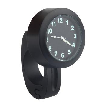 Waterproof Motorcycle Bicycle Motorbike Clock Watch Handlebar Mount Watch Accessory Black