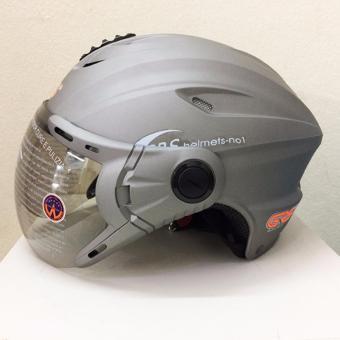 Mũ bảo hiểm GRS A760K (Xám nhám)