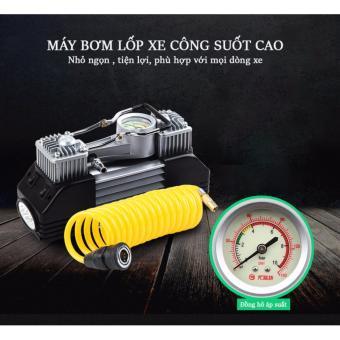 Máy bơm lốp xe oto đa năng và bộ phụ kiện chăm sóc lốp xe