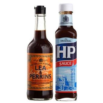 Bộ 1 sốt Lea & Perrins Worcestershire 290ml và 1 sốt HP 255ml
