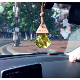 Tinh dầu treo xe ô tô - Hương Bưởi