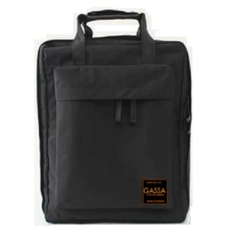 Balo Laptop Basic Thời Trang GASSA - BLLT001D (Đen )