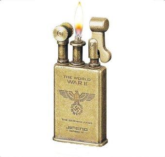 Bật lửa xăng đá Jifeng 006D (Vàng đồng)