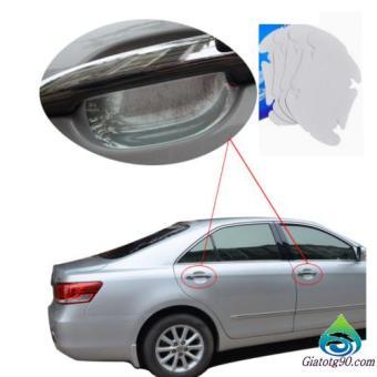 Bộ 4 miếng dán chống xước tay cửa xe ô tô 2TI39