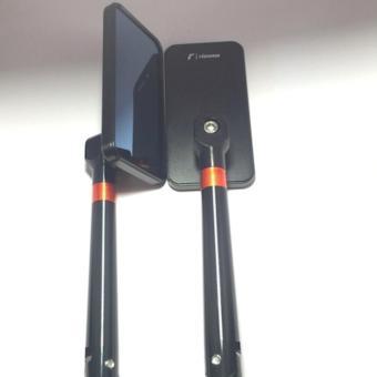 Cặp kiếng chiếu hậu kiểu iphone gắn xe máy (màu đen)