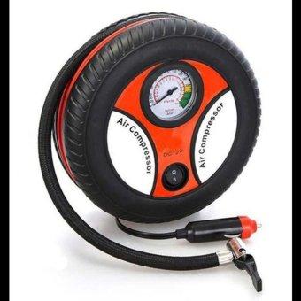 Máy bơm lốp điện cho xe hơi hình bánh xe