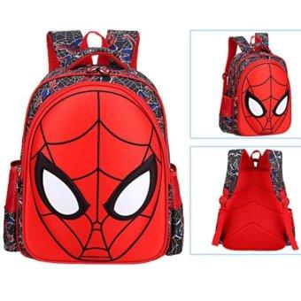 Ba Lô 3D Người Nhện Spider Man Cho Bé Yêu Đi Học