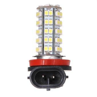 Xenon White H8 H11 68 SMD 3528 LED Fog Daytime Driving Head Light Lamp Bulb 12V - intl