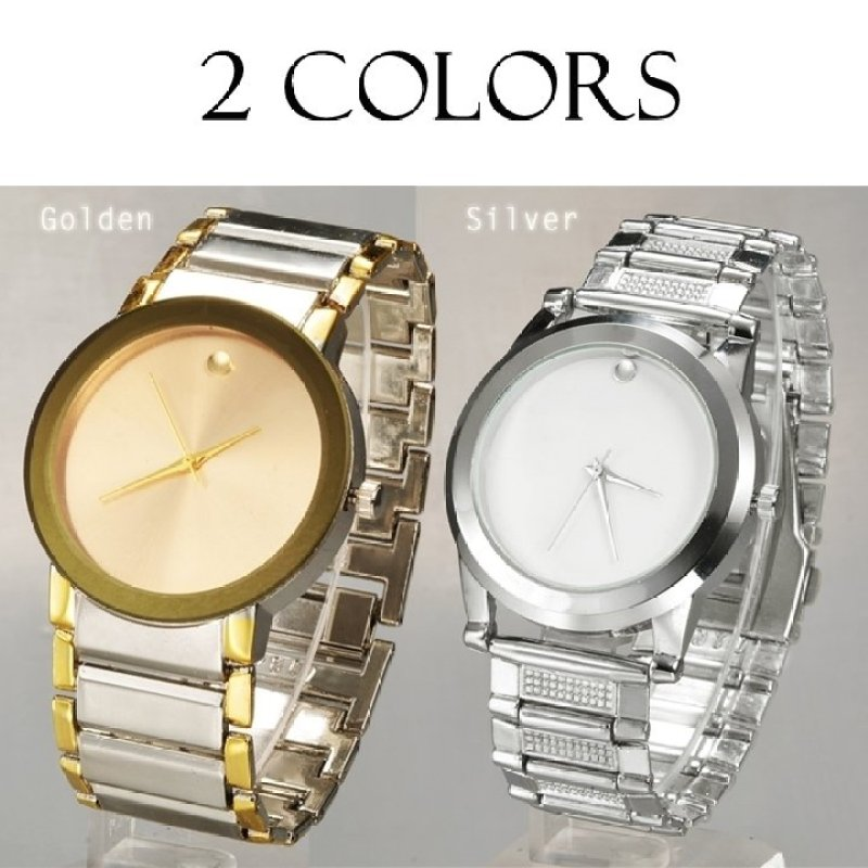 Nơi bán Jo.In Brief Pointer Display Steel Analog Dial Stainless Alloy Wrist Watch (Gold) - Intl - intl