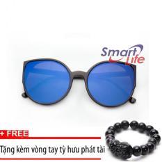 Nơi Bán Kính mát nữ mắt mèo Sino Blue S1048+Tặng kèm vòng tay thạch anh tỳ hưu đen  Smart Life