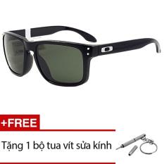 Thông tin Sp Kính mát Oakley HOLBROOK OO9244 03 (Đen) + Tặng 1 bộ tua vít sửa kính  Sunny (Tp.HCM)