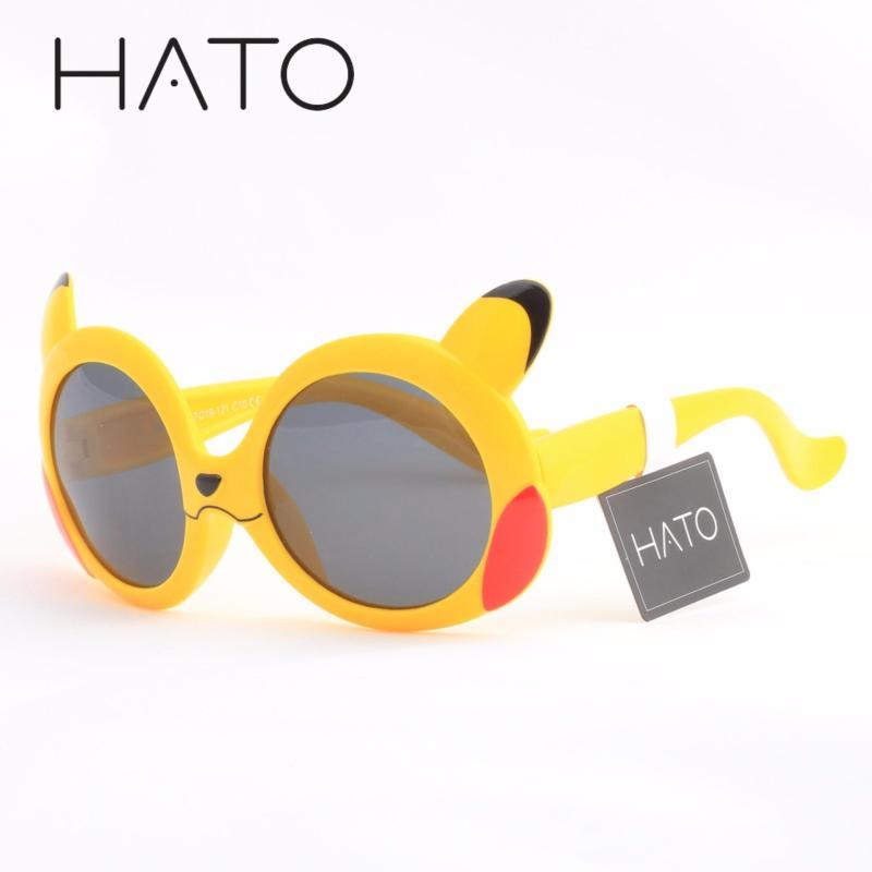 Giá bán Kính Mát Phân Cực Trẻ Em TR90 Pikachu HATO S8124 (VÀNG)