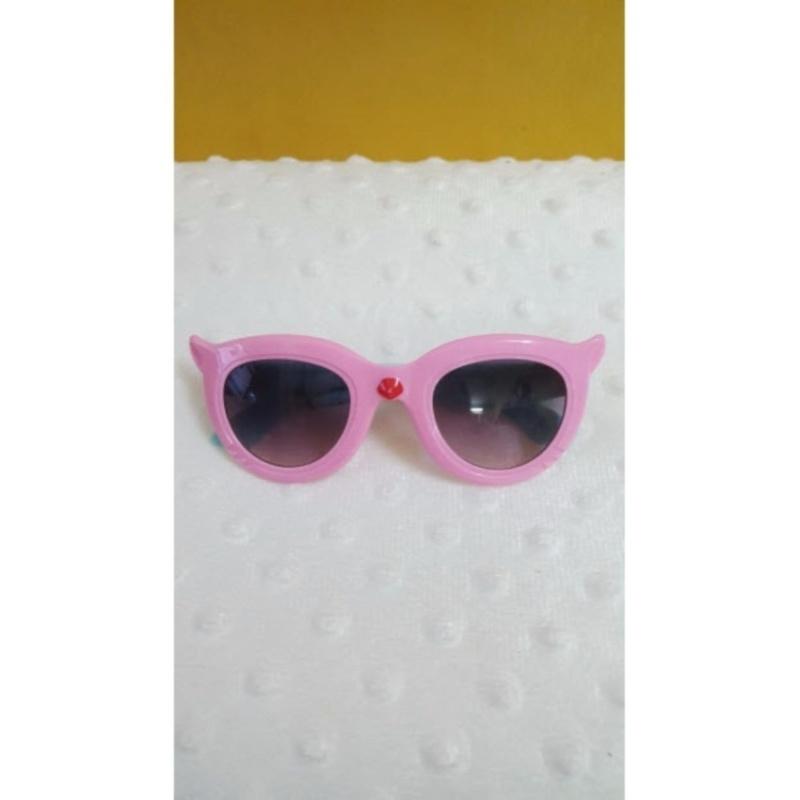 Mua Kính mắt trẻ em chống nắng cao cấp (Hồng Cyan)  + Tặng 1 đôi găng tay lót nỉ siêu cute + Tặng 1 đôi dép nỉ đi trong nhà