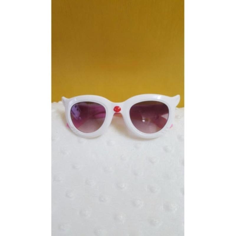 Mua Kính mắt trẻ em chống nắng cao cấp (Trắng hồng)  + Tặng 1 đôi găng tay lót nỉ siêu cute + Tặng 1 đôi dép nỉ đi trong nhà