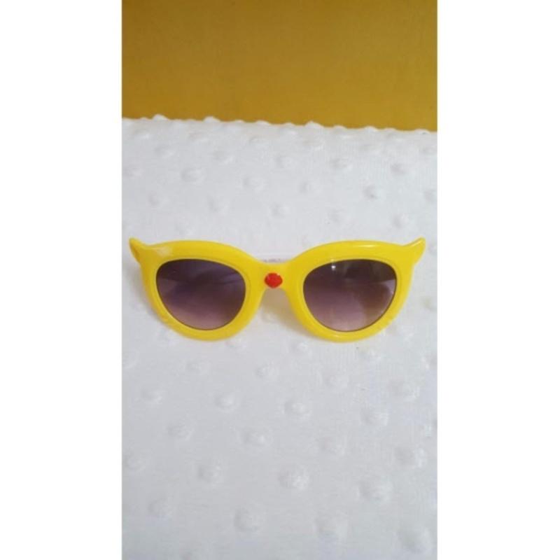 Mua Kính mắt trẻ em chống nắng cao cấp (Vàng)  + Tặng 1 đôi găng tay lót nỉ siêu cute + Tặng 1 đôi dép nỉ đi trong nhà