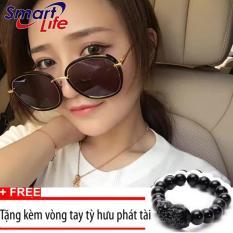 Bảng Báo Giá Kính mát Unisex Sino S1044+Tặng kèm vòng tay thạch anh tỳ hưu đen  Smart Life