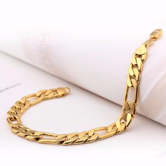 Lắc tay nam mạ vàng 24k cao cấp công nghệ mới sang trọng