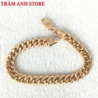 Lắc tay nam nữ mạ vàng 18K cao cấp - LTXX37L68