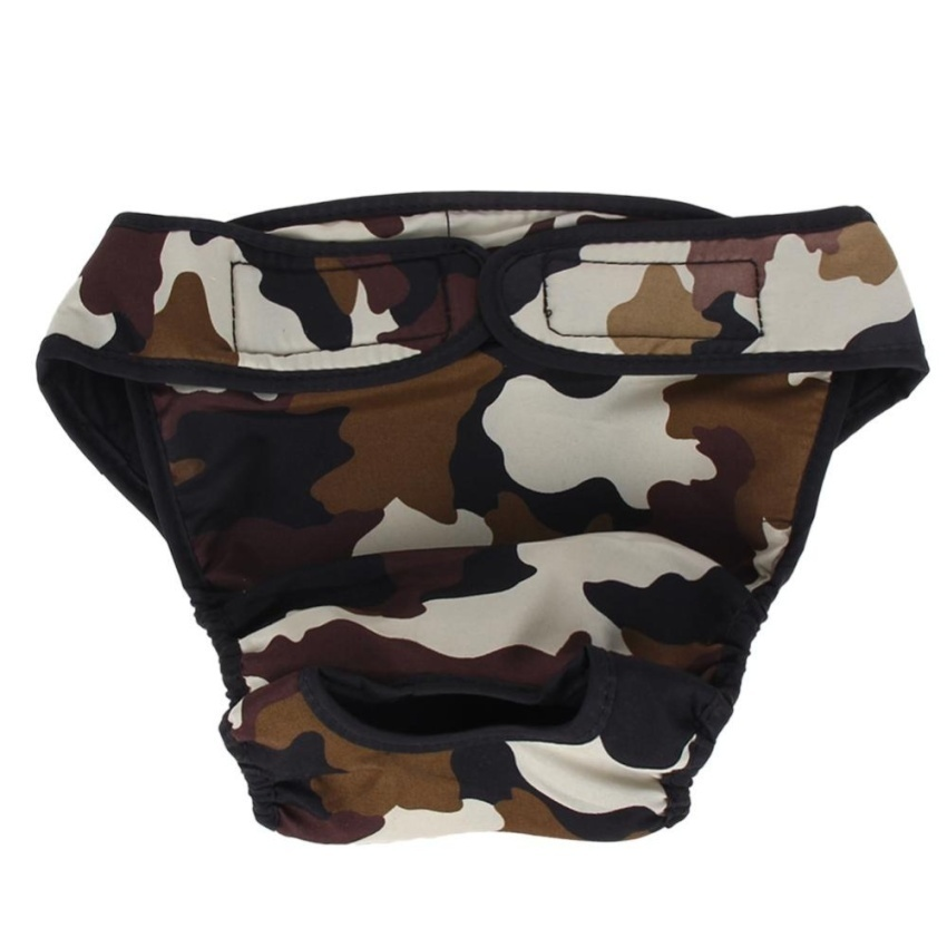 ... Large Female Dog Diaper Sanitary Physiological PantsWashableUnderwear(Army Green)-L - intl ...