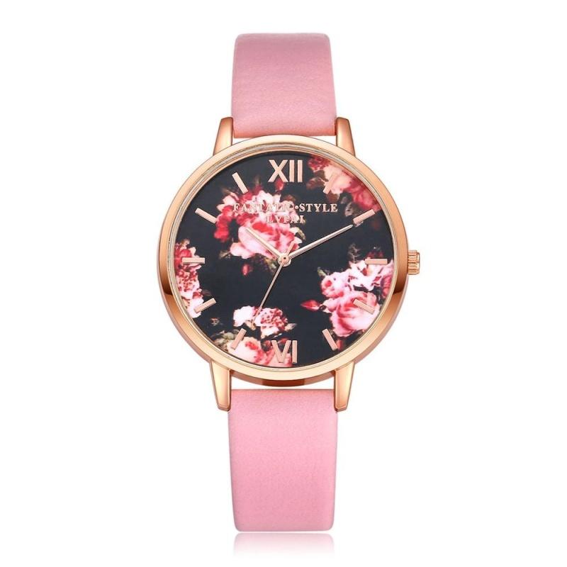 Nơi bán LVPAI Watches Women Quartz Wristwatch Clock Ladies Dress Gift Watches - intl