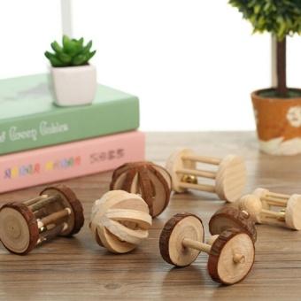 LZ Natural Wood Dumbells Set Boredom Breaker Chew Toys Rabbi Guineapigs Rat Small Bell Wheel - intl - 8615648 , OE680OTAA9A8J7VNAMZ-18411238 , 224_OE680OTAA9A8J7VNAMZ-18411238 , 312000 , LZ-Natural-Wood-Dumbells-Set-Boredom-Breaker-Chew-Toys-Rabbi-Guineapigs-Rat-Small-Bell-Wheel-intl-224_OE680OTAA9A8J7VNAMZ-18411238 , lazada.vn , LZ Natural Wood Dumb