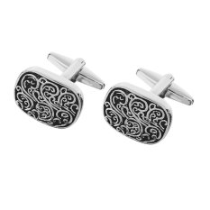 Giá Khuyến Mại MagiDeal Vintage Cufflinks Mens Roman Totem Cuff Link Wedding Party Gifts Anti Silver – intl   MagiDeal