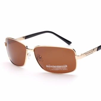 Mắt kính nam thời trang + Tặng bao da DDL37