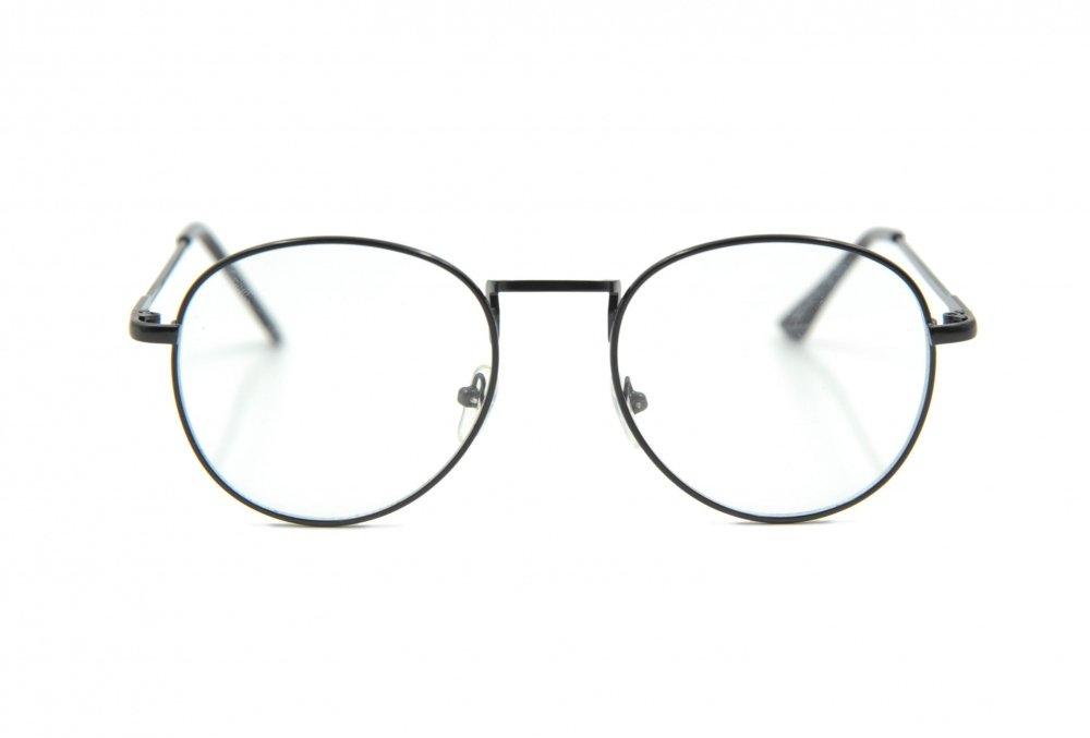Mắt kính ngố nữ (Đen)