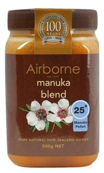 Mật ong Airborne Manuka 25+ 500g