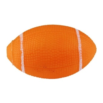 MEGA Pet Toy Squeaky Rugby Ball - intl