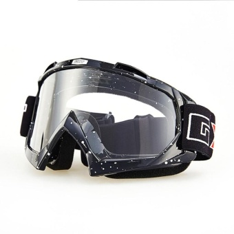 Motorcycle Anti - twist Goggles Transparent Ski Goggles - intl