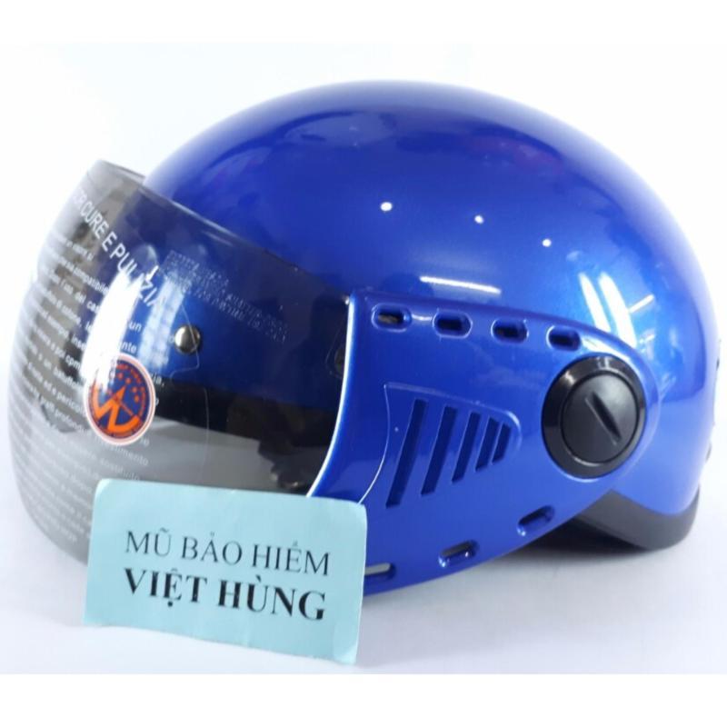 Mũ bảo hiểm GRS A08 (Xanh dương) (Mũ dành cho người đầu nhỏ hoặc trẻ em trung học phổ thông)