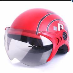 Mũ bảo hiểm SPO cao cấp (Đỏ)