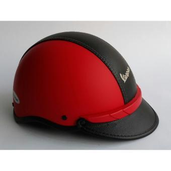 Mũ Bảo Hiểm Vespa Da