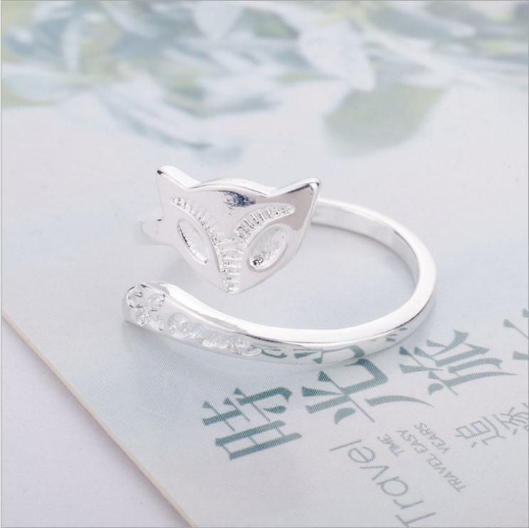 Nhẫn nữ hình hồ ly Simple Style phong cách Châu Âu (NN03)