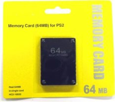 So Sánh Giá niceEshop 64 MB Memory Card for PlayStation 2 PS2 (Black)   niceE shop