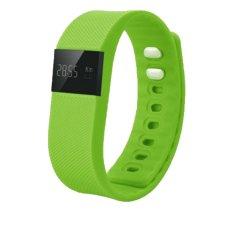Cập Nhật Giá niceEshop Bluetooth Waterproof Smart Watch Bracelet for Smart Phone Fitness Tracker (Green) – Intl  niceE shop