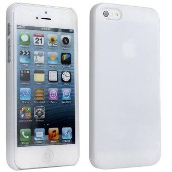 niceEshop DIY Hard Case for iPhone 5 5S (White) - Intl