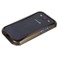 Giá Niêm Yết niceEshop Premium Metal Frame Streamline Design Case Bumper for Samsung Galaxy S3 I9300 (Brown) – Intl  niceE shop