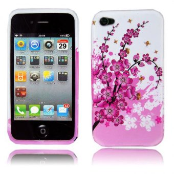 Nơi Bán niceEshop TPU Gel Rubber Skin Case for Iphone 4 4G 4S (Multicolor) – Intl   niceE shop
