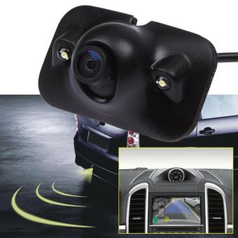 Night Vision Car Backup Rear View Parking Camera With 2 LED Lights- intl - 2