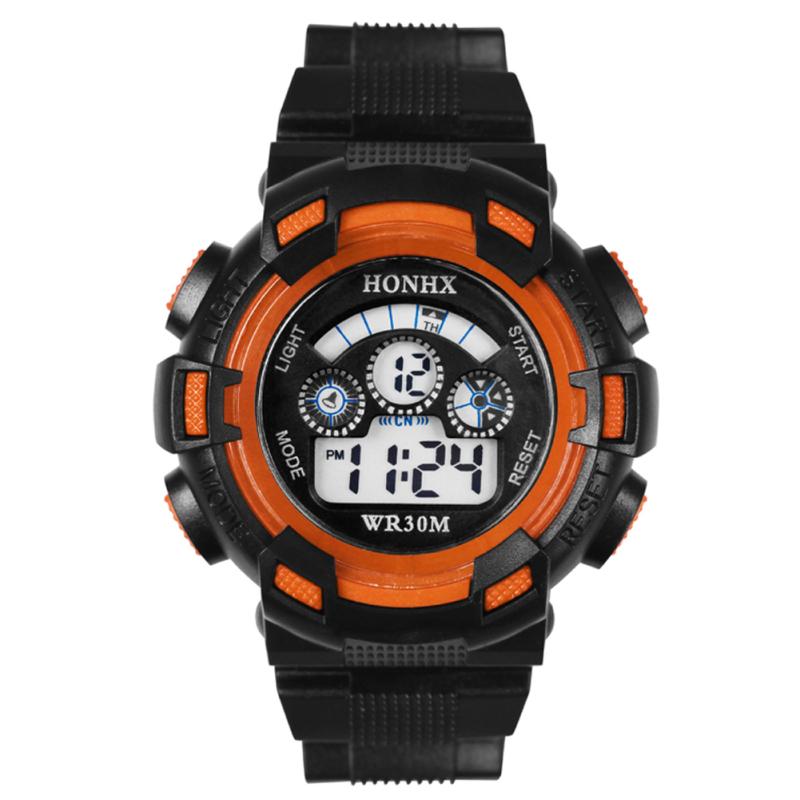 Nơi bán Outdoor Multifunction Waterproof Unisex Sports Electronic Watch (Orange) - intl