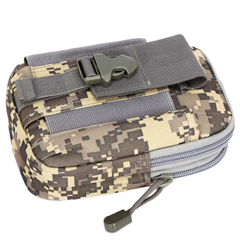 Outdoor Tactical Waist Pack Bag EDC Camping Hiking Pouch ACU (Intl)