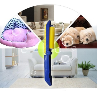 Pet Dog Cat Massage brush Grooming hair removal Double batter clean Fur - intl