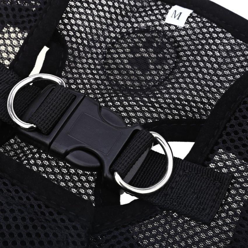 ... Pething Pet Harness Leash Strap Soft Mesh Dog Cat Adjustable Vestsafe Collar Cloth With Clip ...