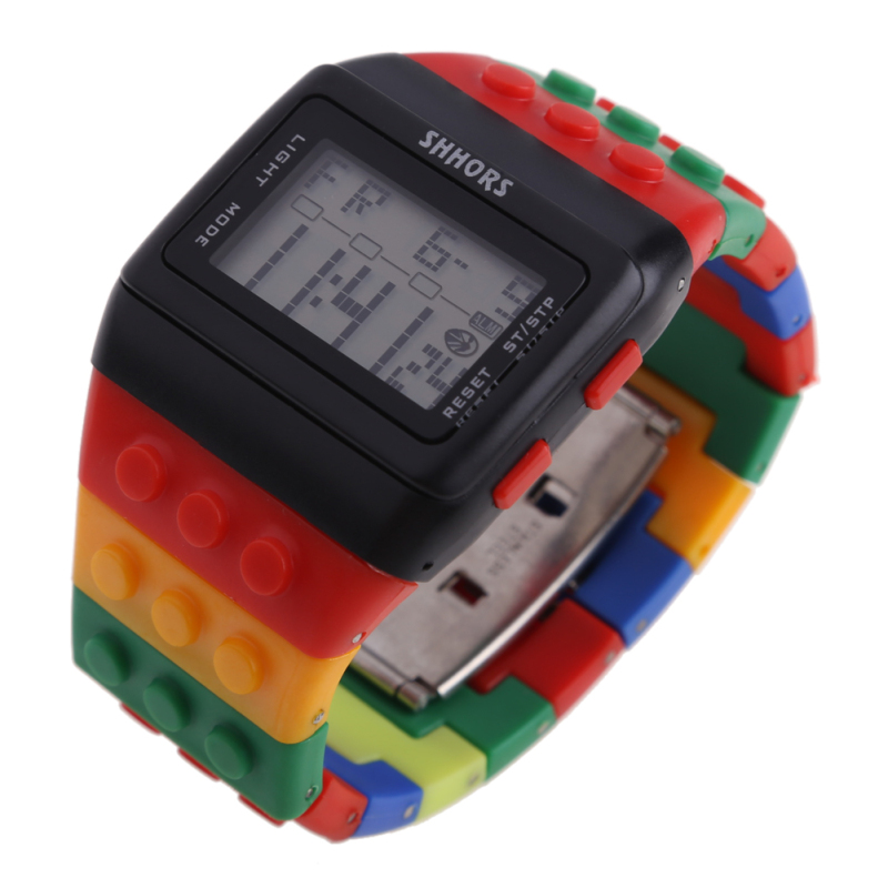 Retro Chic Unisex Digital Constructor Multi Function Watch Sports D - bán chạy