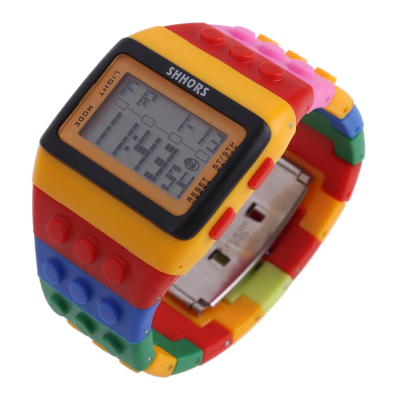 Retro Chic Unisex Digital Constructor Multi Function Watch Sports H - bán chạy